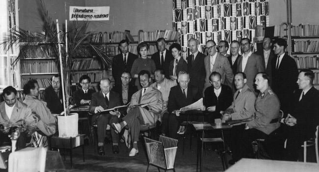 Otwarcie biblioteki przy ul. Kolejowej - 26 czerwca 1963 roku.